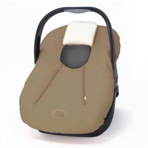 Cozy Cover Infant Carrier Cover Tan Beige New!